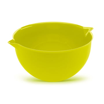Palsby Mixing Bowl by Koziol in mustard green