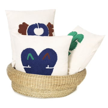 Nido cushions with Fibra basket by ames