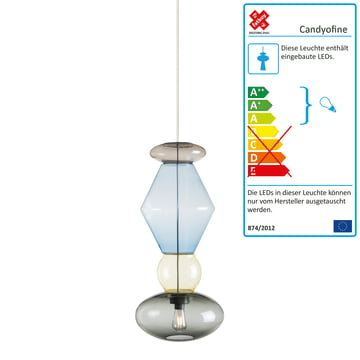 Fatboy - Candyofnie Pendant Lamp, 4 Candies, Set 1