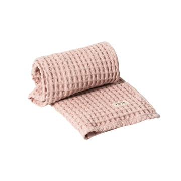 Organic Towel, 100 x 50 cm in pink by ferm Living
