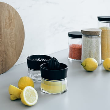 Grand Cru Lemon Squeezer with Grater 0.25 l by Rosendahl