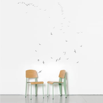Domestic - Flock of Gulls Wall Stickers