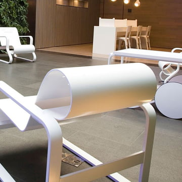 Artek interior furniture in white