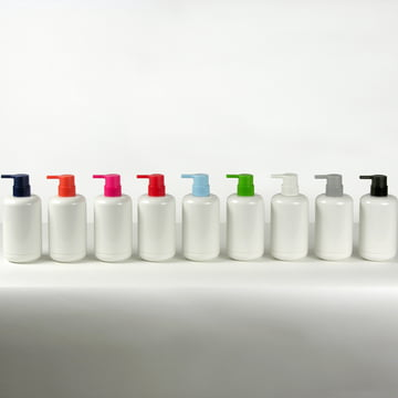 Lunar soap dispenser in multiple colours