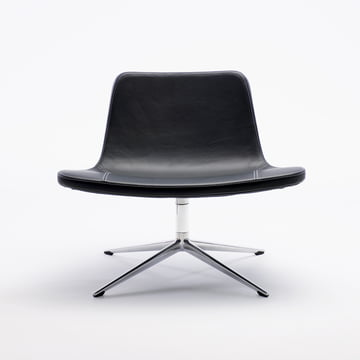 Hay - Ray Lounge Chair, bogie, leather