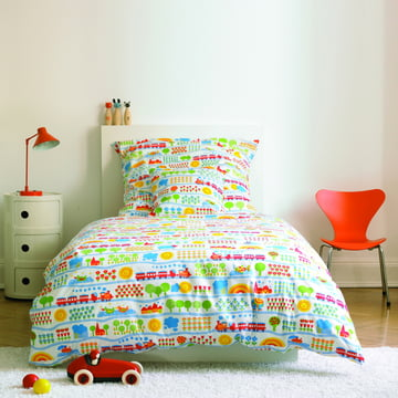 byGraziela - Train children's bed linen