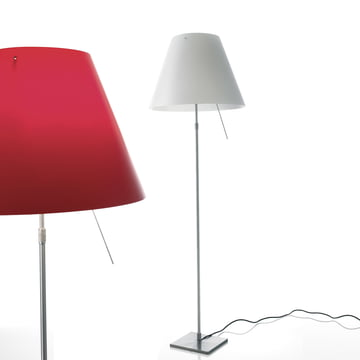 Costanza D13 t.c.. Standard lamp by Luceplan
