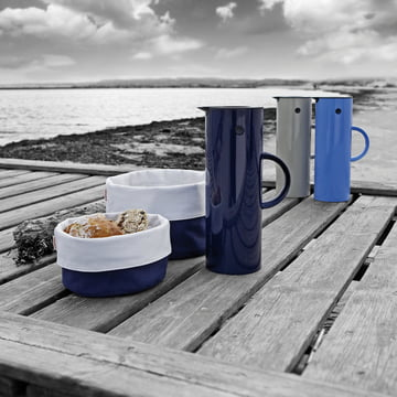 Stelton - bread box and insulated flask, Spring 2012