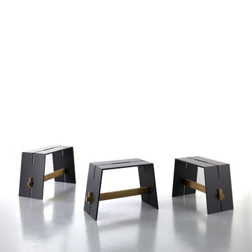 Conmoto - Tension Side Table & Stool