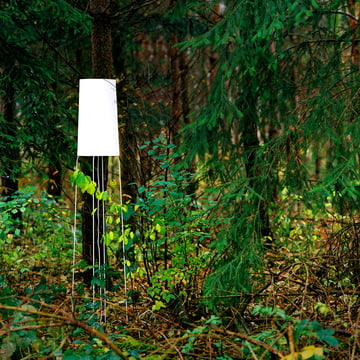 frauMaier - Slimsophie Floor Lamp, white - ambience, forest