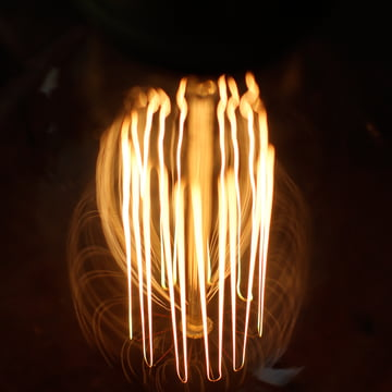 Mimime - Globe Squirrel Cage light bulb E27, Ø9,5cm