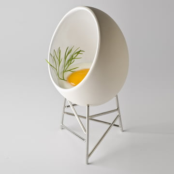 Alessi - Le Nid - with raw egg