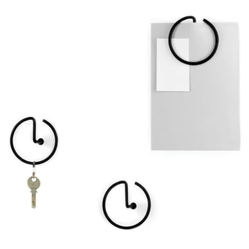 Alessi - Graffetta wall hook - group