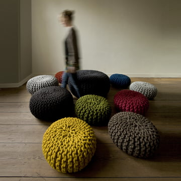 Thomas Eyck - Urchin Pouf - group