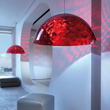 Koziol - Stella XL pendant lamp, red