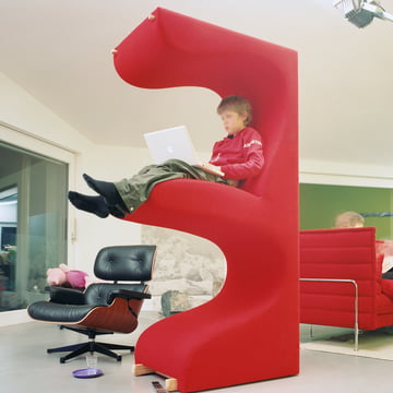 Vitra - Living Tower, tone red