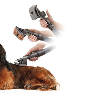yson - Groom Dogs Brush - in use