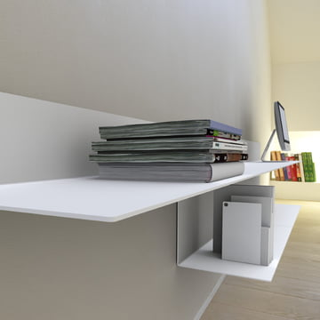 Frost - Unu Shelving system, ambience image office