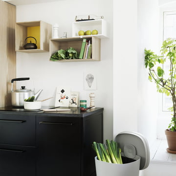 Muuto - Mini Stacked Shelving System, ambience image kitchen