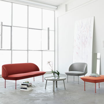 Oslo by Muuto sofa in the living room