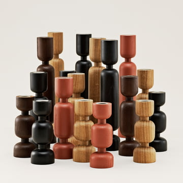 Normann Copenhagen - Lumberjack - group, red, brown