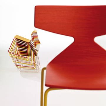 Arper - Saya Chair - stacked, details, front