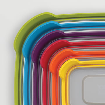 Joseph Joseph - Nest Storage 6 - stacked inside each other -lids