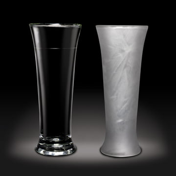 Amsterdam Glass - Beer Glass, 390 ml - normal and frozen
