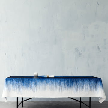 ferm Living - Pen Table Cloth, blue