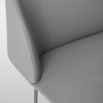 Oslo sofa by Muuto in detail view