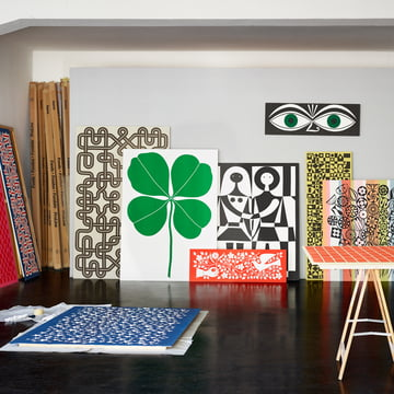 Vitra - graphic canvases