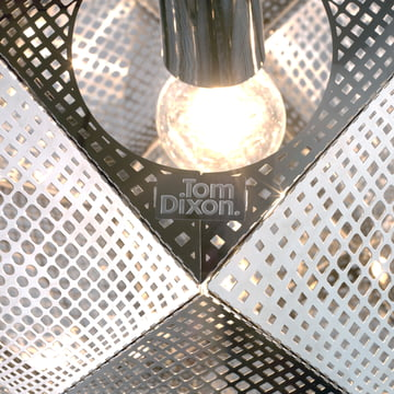 Tom Dixon - Etch pendant fitting, Stainless Steel