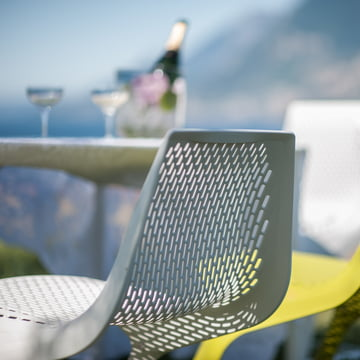 Plank - Myto Chair, outdoor, white