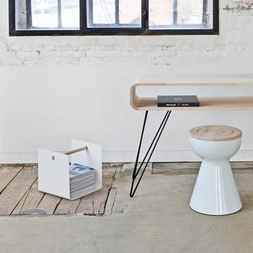 XLBoom - Ambientebild, Metro Sofa Table, Boto Stool, Flow