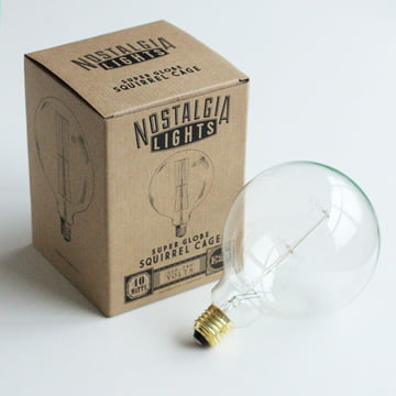 Nook London - Globe Squirrel Cage Light Bulb E27, Ø 12,5 cm
