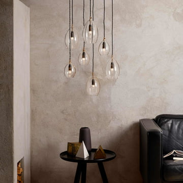 The Unika Pendant Lamp by northernlighting in transparent
