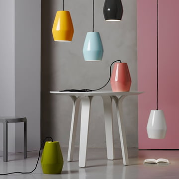 Bell Pendant Lamp by northernlighting in various colours