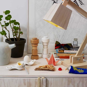 Muuto - Surface egg cup / Wood Lamp