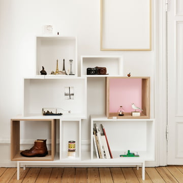 Muuto - Stacked shelving system - Globetrotter