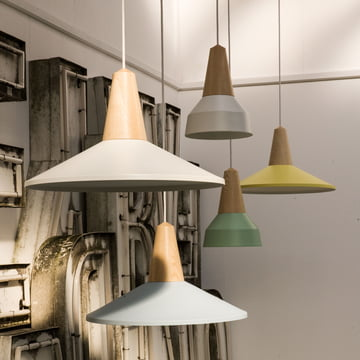 The Schneid - Eikon Basic and Shell Pendant Lamp
