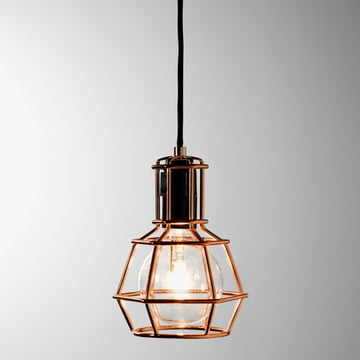 Design House Stockholm - Work Lamp, copper