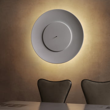 Adjustable LED wall lamp by FontanaArte in white/white LED