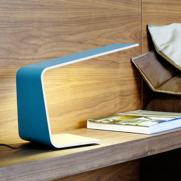 Stylish Led 1 table lamp on the bedside table
