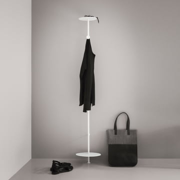Menu - Coat hanger, white