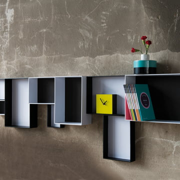 Remember - Pappap Shelf System, Black & White