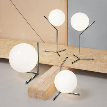 Flos - IC T2 Table Lamps chrome