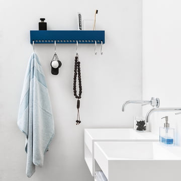 Nomess - So-Hooked Coat Rack, blue