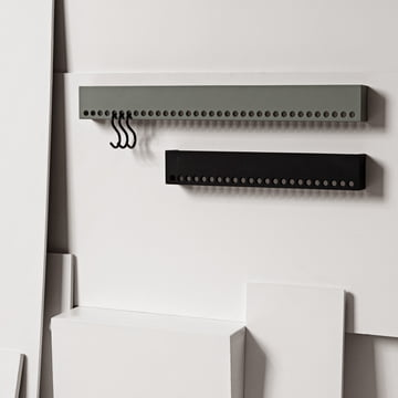 Nomess - So-Hooked Coat Rack, gray, black