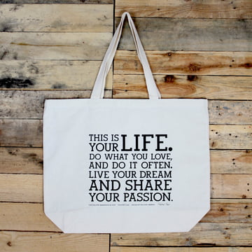 Holstee - Original Manifesto Tote Bag