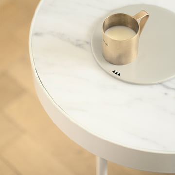 ferm living - Marble Table, white